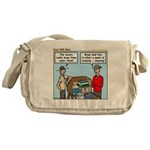 Clean Messenger Bag