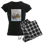 Thrifty Women's Dark Pajamas