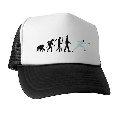 evolution fencing Trucker Hat
