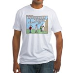 Cheerful Fitted T-Shirt