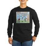 Cheerful Long Sleeve Dark T-Shirt