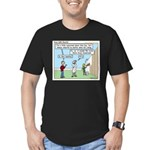 Cheerful Men's Fitted T-Shirt (dark)