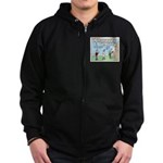 Cheerful Zip Hoodie (dark)