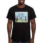 Obedient Men's Fitted T-Shirt (dark)