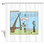 Obedient Shower Curtain