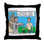 Courteous Throw Pillow