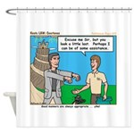 Courteous Shower Curtain