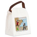 Friendly Canvas Lunch Bag