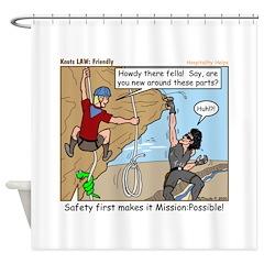 Friendly Shower Curtain