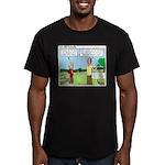Trustworthy Men's Fitted T-Shirt (dark)