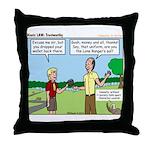 Trustworthy Throw Pillow