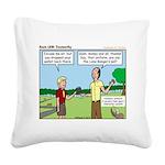 Trustworthy Square Canvas Pillow