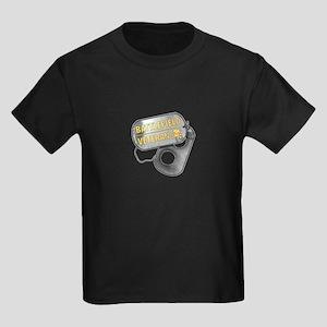 Battlefield Tags Kids Dark T-Shirt