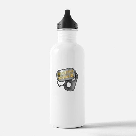 Battlefield Tags Water Bottle
