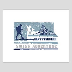 Swiss Adventure Small Poster