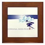 Swiss Mountain Framed Tile