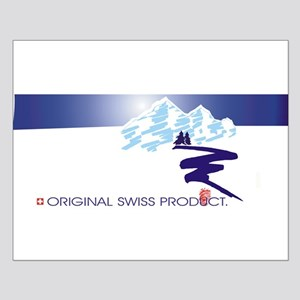Swiss Mountain Small Poster
