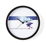 Swiss Mountain Wall Clock