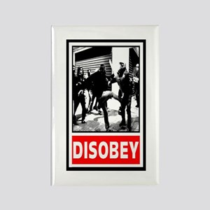 Disobey! Rectangle Magnet