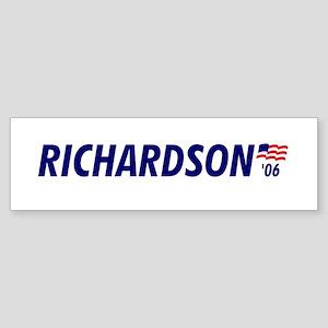 Richardson 06 Bumper Sticker
