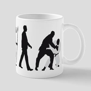 evolution judo martial arts Mug