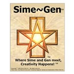 Sime~Gen Small Poster