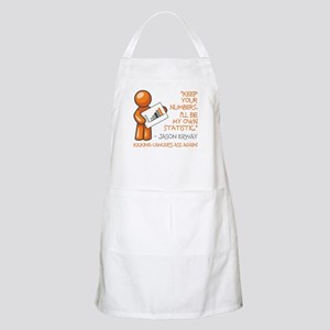 KEEP YOUR NUMBERS... Apron