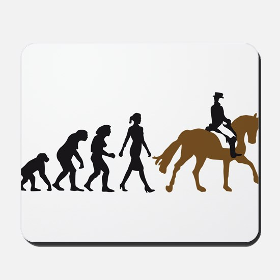 evolution horse riding Mousepad