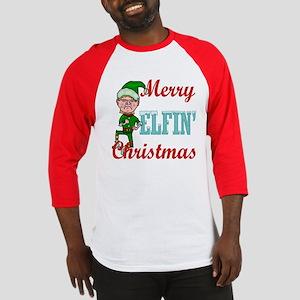 Funny Elfin Christmas Baseball Jersey