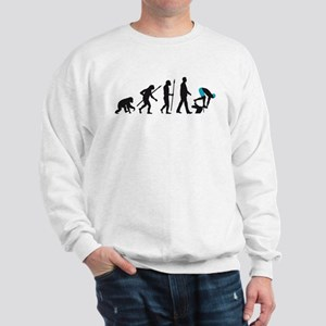 evolution swimmer on startblock Sweatshirt