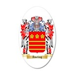 Ameling 35x21 Oval Wall Decal
