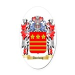 Amelung Oval Car Magnet