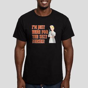 SEXY NURSES Men's Fitted T-Shirt (dark)