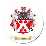 Ames Round Car Magnet