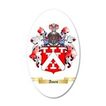 Ames 20x12 Oval Wall Decal