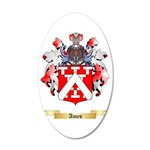 Ames 35x21 Oval Wall Decal