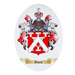 Ames Ornament (Oval)