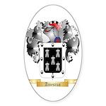 Amescua Sticker (Oval 50 pk)