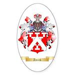 Amick Sticker (Oval)
