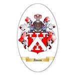 Amies Sticker (Oval)
