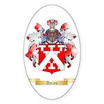 Amies Sticker (Oval 10 pk)