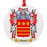 Amory Round Ornament