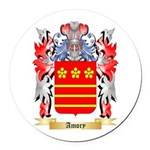 Amory Round Car Magnet