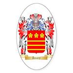 Amory Sticker (Oval 50 pk)