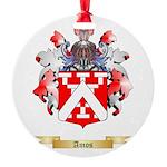 Amos Round Ornament