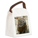 Iguana Canvas Lunch Bag