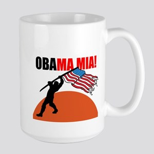 Obamamia! Large Mug