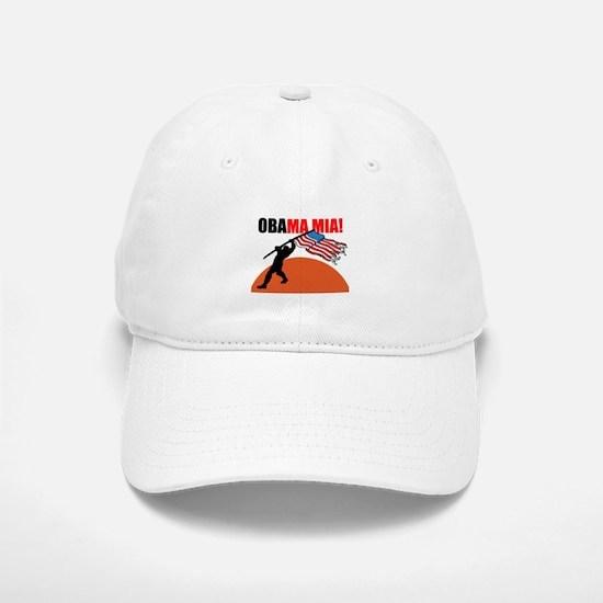 Obamamia! Baseball Baseball Cap