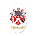 Amis Oval Car Magnet
