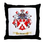 Amiss Throw Pillow